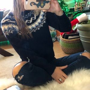 amazing hand knit vintage sweater knit